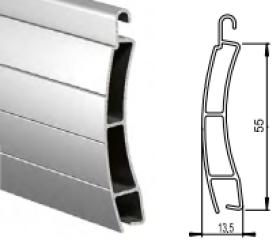 Алюминиевый экструдированный повышенной прочности AER/55
