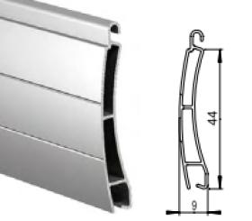 Алюминиевый экструдированный повышенной прочности AER/44 ms